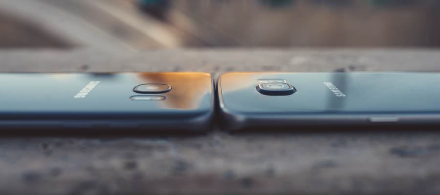 Samsung S7 vs S6 Camera size