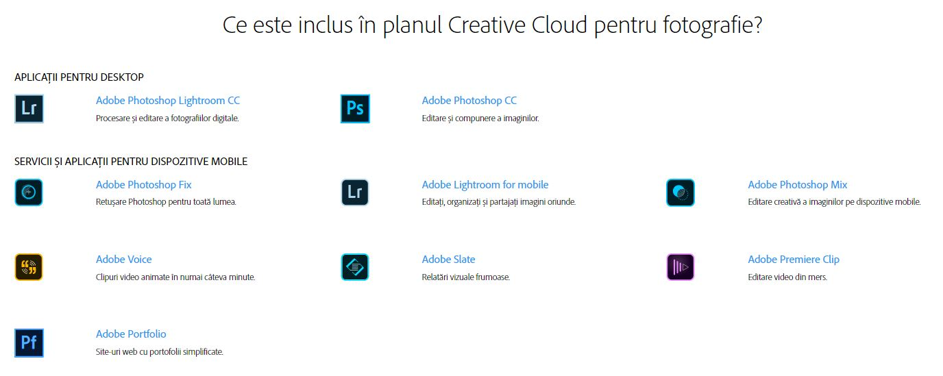 Adobe Cloud Photography